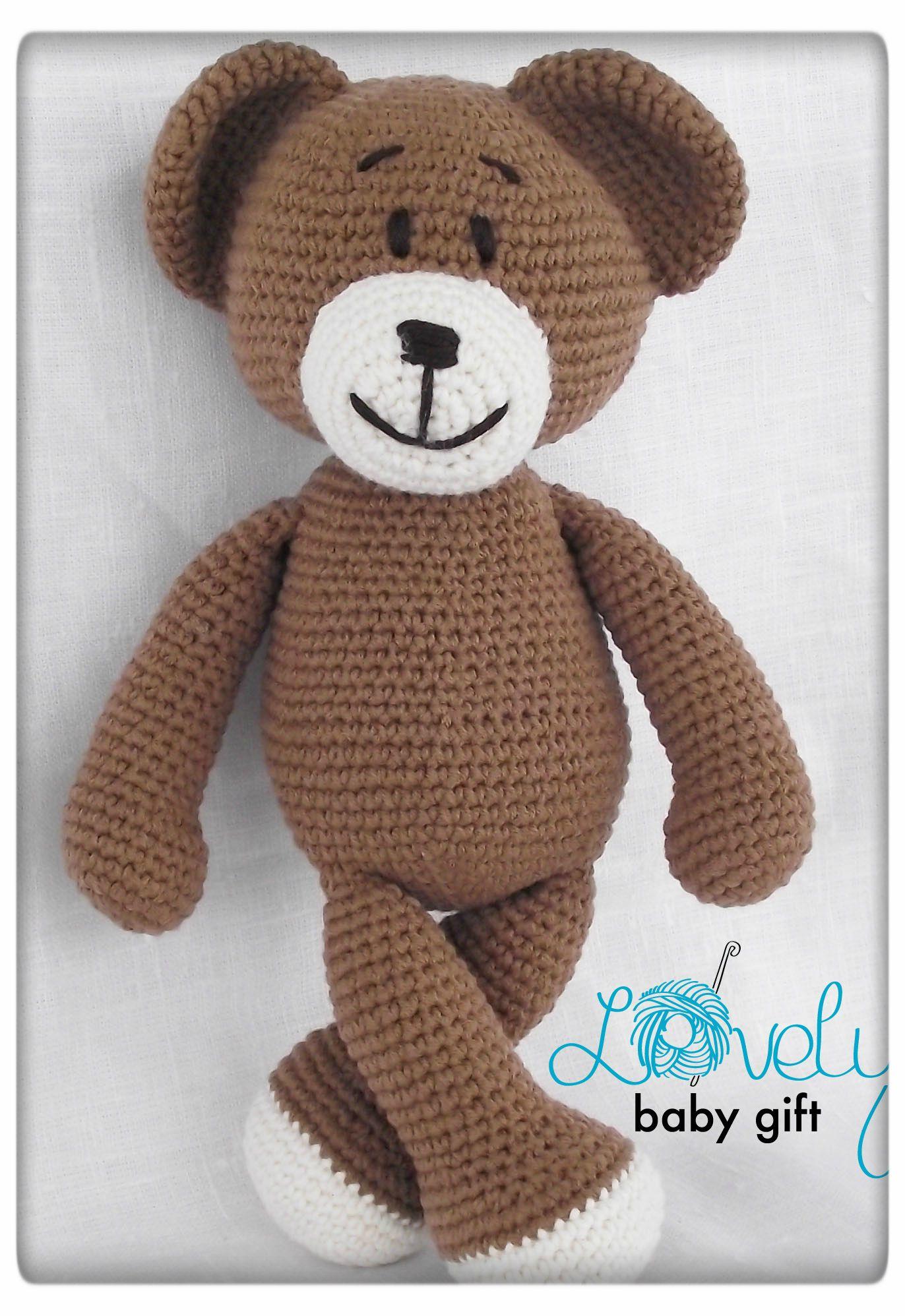 Amigurumi Pattern Crochet, Amigurumi Bear Crochet, Animal Crochet ...