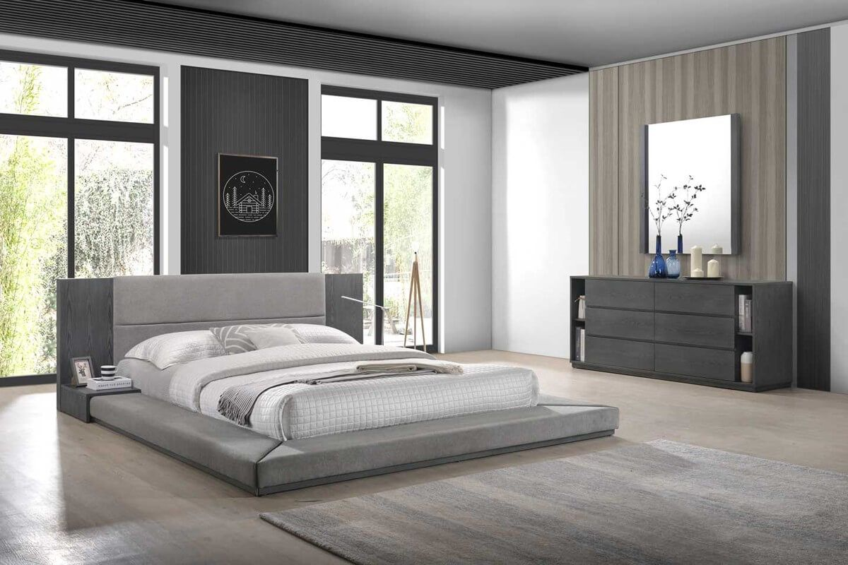 10 Mens Bedroom Ideas 2021 Cool By Nature Grey Bedroom Set Modern Bedroom Set Modern Grey Bedroom