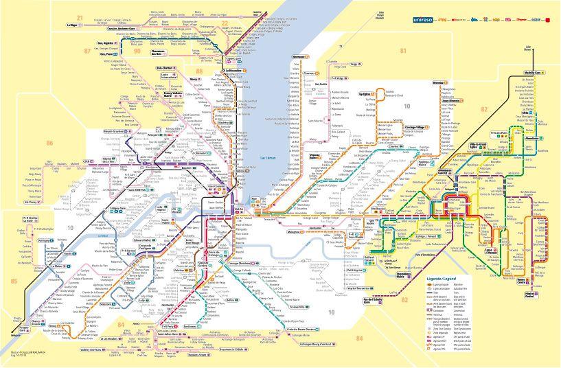 Geneva transport | Map, How to plan, Language