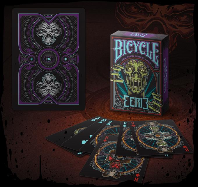Carte Bicycle Eerie Purple by Gambler/'s Warehouse