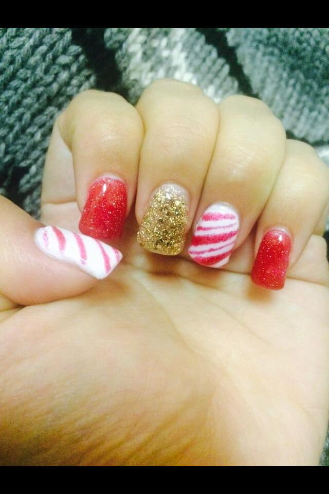 Clients photo of her nails we did!! Using en vogue gel nails. Follow ...
