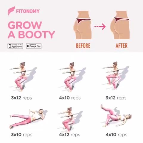 GROW A BOOTY!