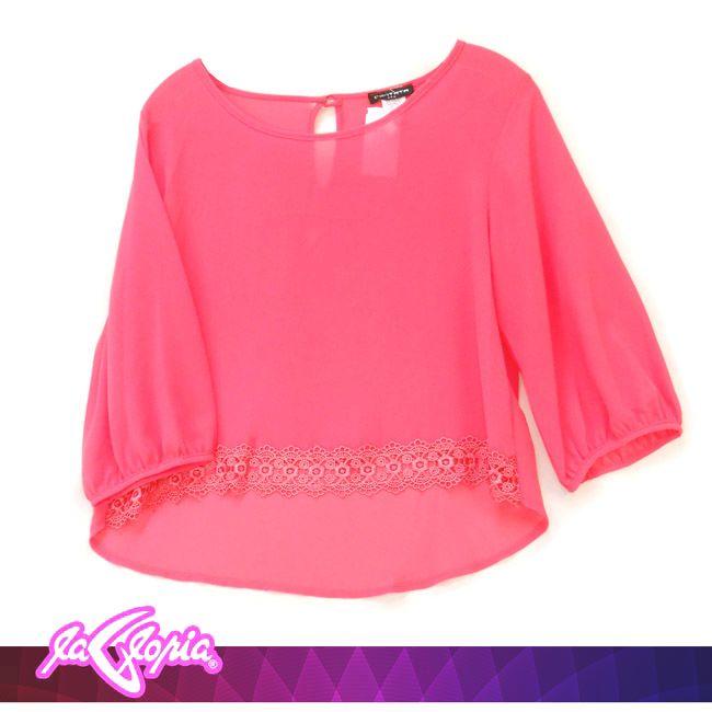 #Coral un #color que se le ve bien a todas #Blusas #Damas 2do.Piso