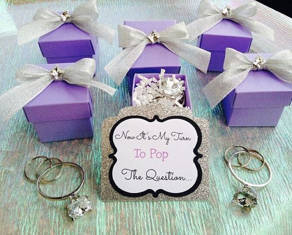 Bridesmaid Proposal Boxes by MyMelonHeart on Etsy | My wedding ...