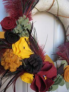 Feathery Fall Wreath