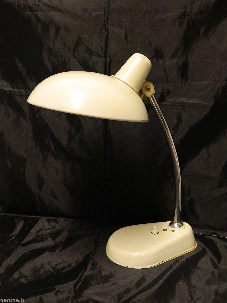 LAMPADA DA TAVOLO ANNI '60 - '70 VINTAGE DESIGN TABLE DESK LAMP #B316 in Arte e antiquariato, Modernariato, Lampade | eBay