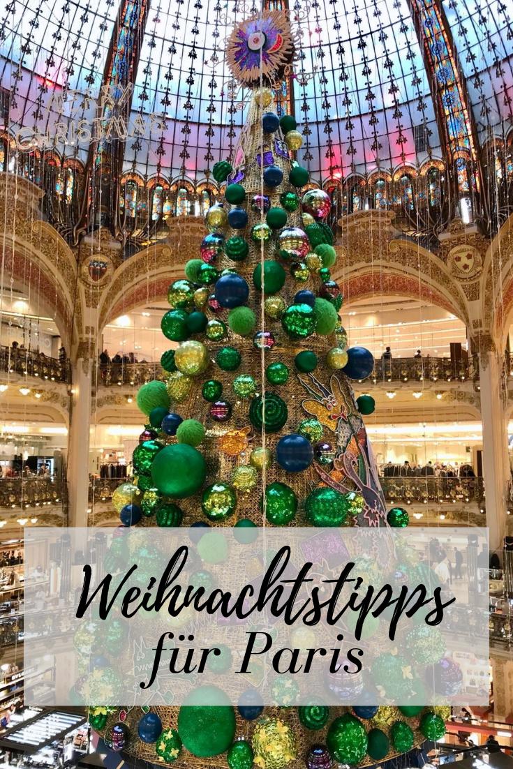 Weihnachten Paris 2018: Öffnungszeiten, Shopping & Weihnachtsmärkte ...