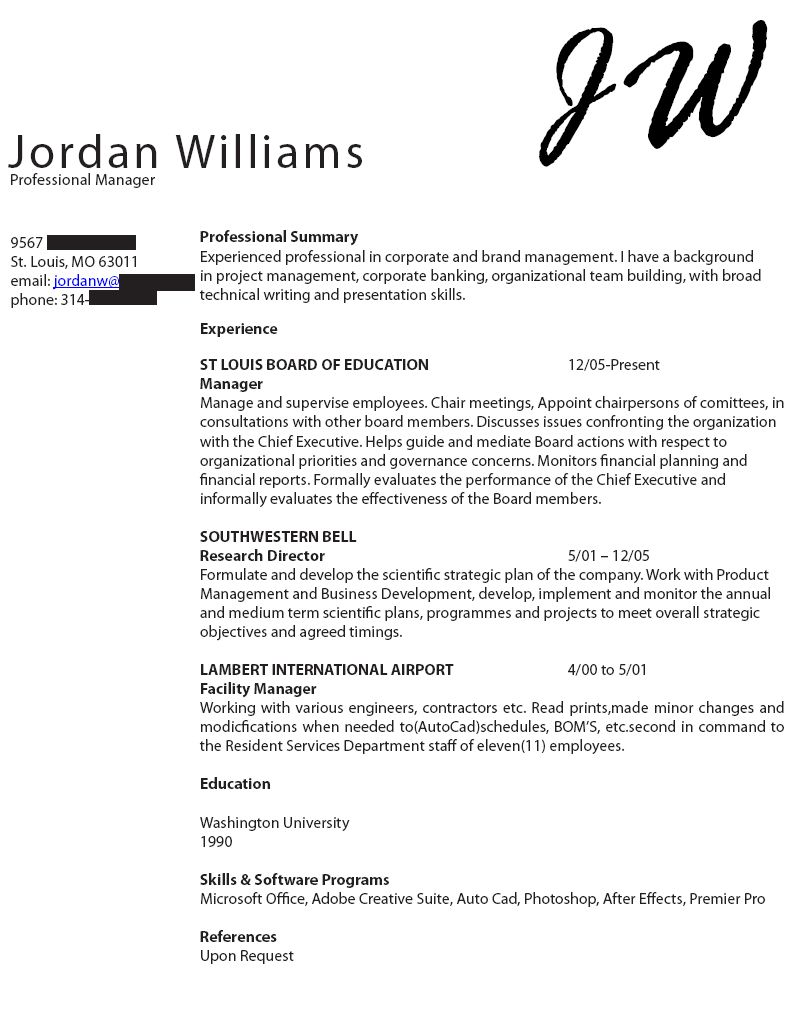 Job Hunt Got You Down Try A New Resume Design  Marketing Resume