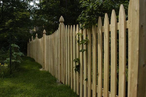 Middlebury Fence Fence Design Fence Picket Fence