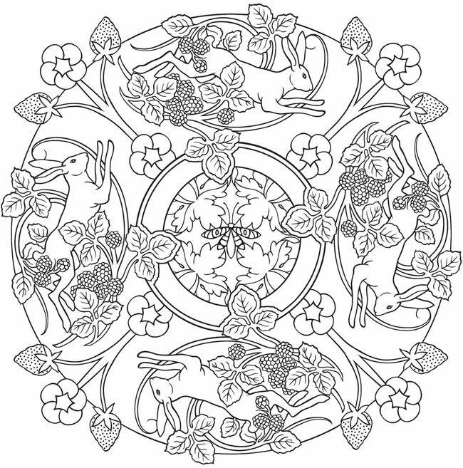 Nature mandalas coloring pages google search