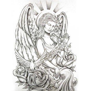tatouage ange et croix deco pinterest. Black Bedroom Furniture Sets. Home Design Ideas