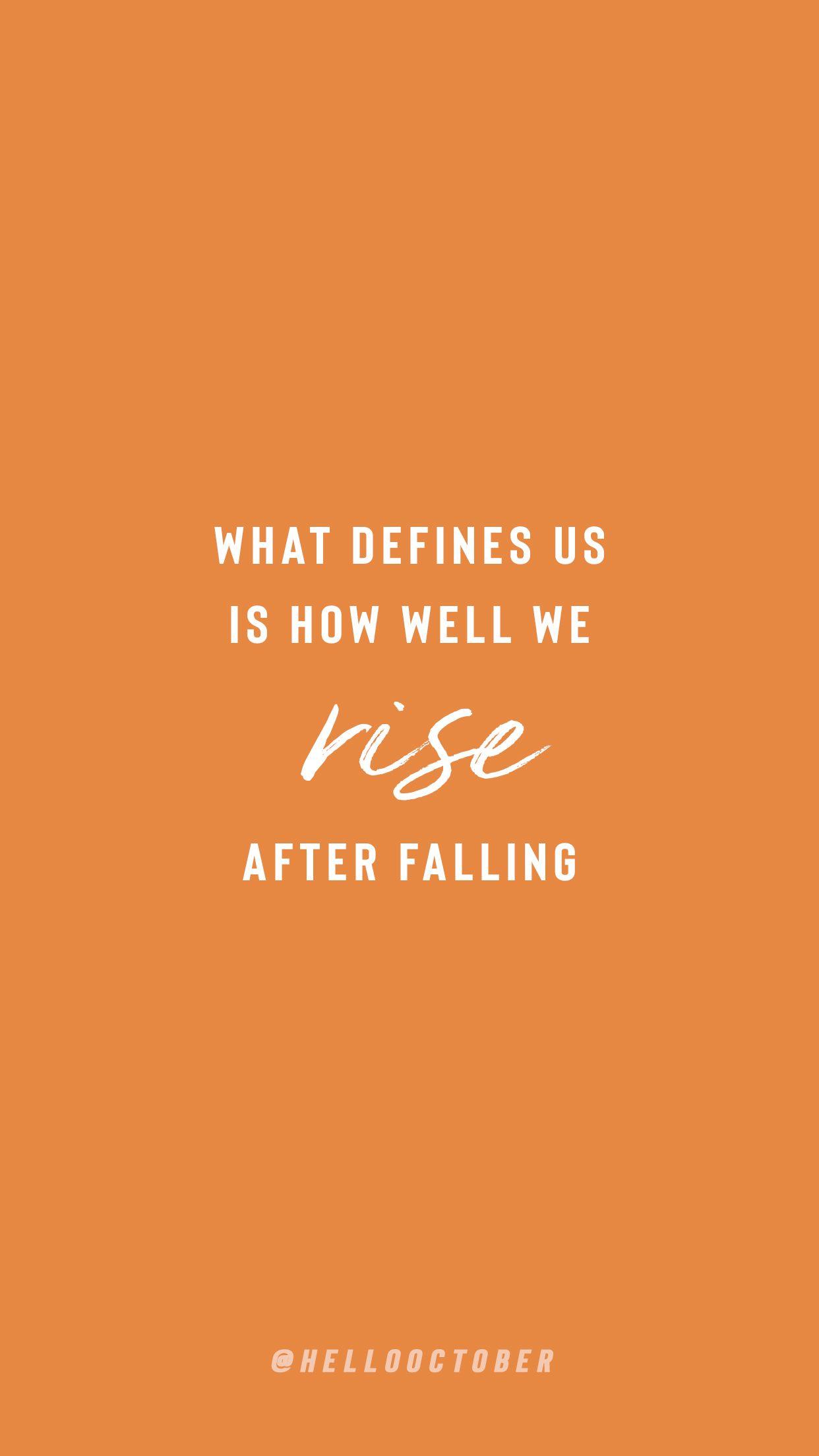 Instagram @hellooctober  Orange quotes, Orange aesthetic, Monday