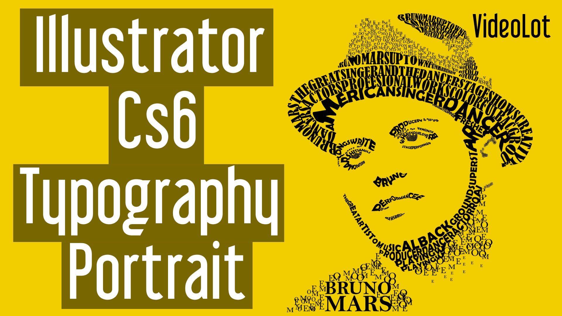 Adobe illustrator cs6 typography portrait bruno mars diseo adobe illustrator cs6 typography portrait bruno mars baditri Gallery