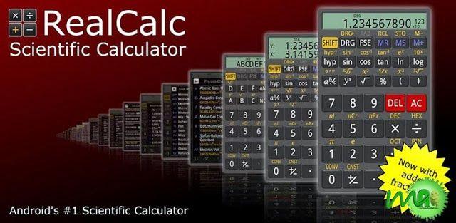 Realcalc Plus 1 7 4 Apk Scientific Calculators App Calculator