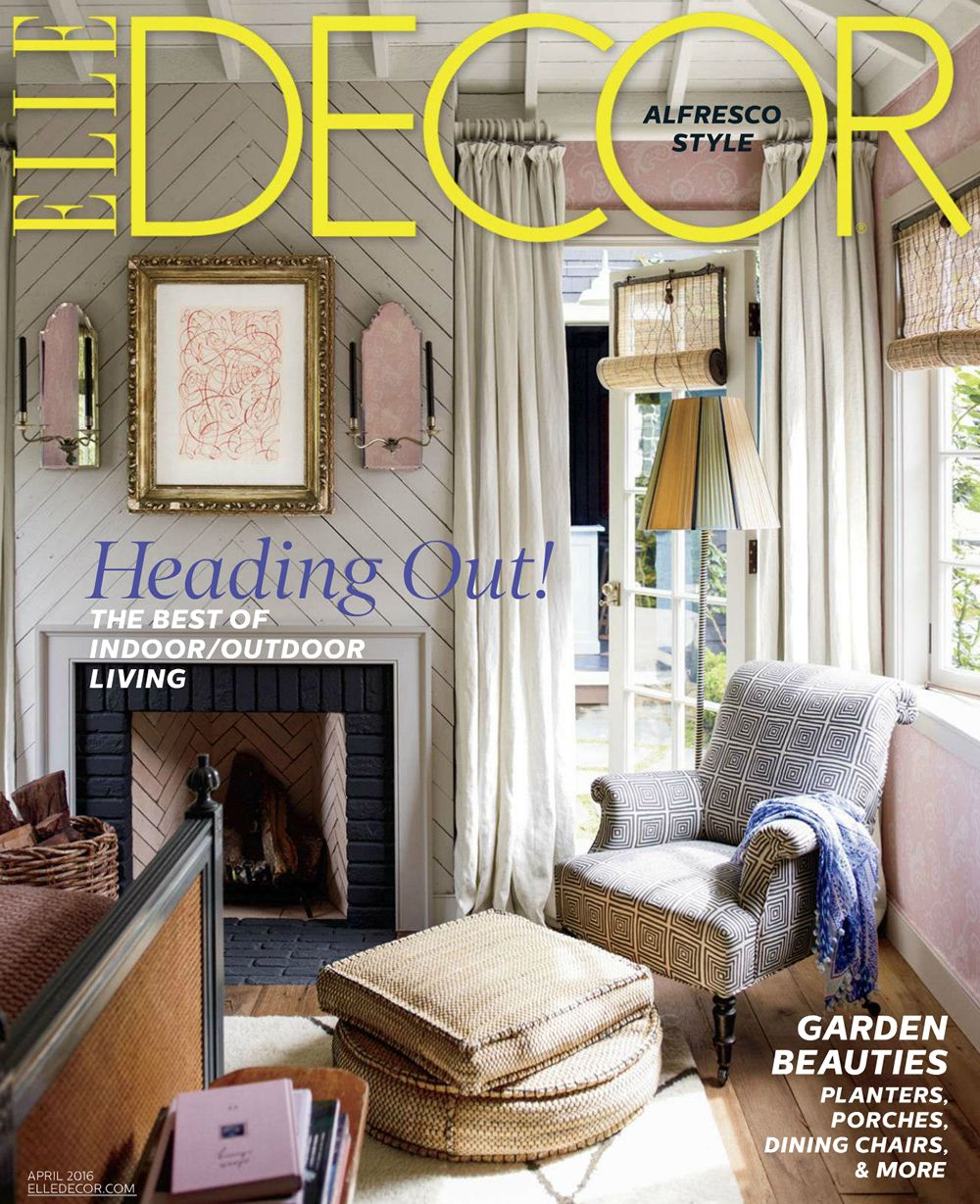 Want A K Inside Our Chief Creative Officer Blythe Henwood Harris Home This Week Her Mill Valley Ca Was Featured On The Cover Of Elle Decor And