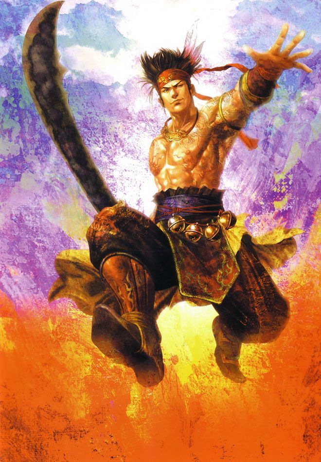 Gan Ning Wu 東方造型 Pinterest Dynasty Warriors Warrior Samurai Artwork