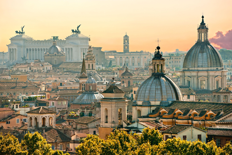 Beautiful Cityview Of Rome Rome Italie Reizen Plaatsen Om Te Bezoeken