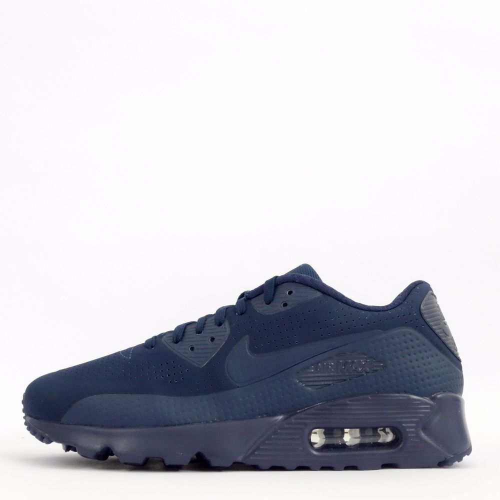 big sale 7bf40 bc628 Nike Air Max 90 Ultra Moire Mens Casual Trainers Shoes Sneakers Midnight  Navy  Nike  CasualTrainersShoesSneakers