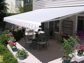 Retractable Awnings From Conservation Concepts Patio Awning Patio Portable Gazebo