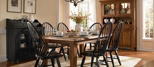 Windsor Dining Set 1000 Images About Room Table Chairs Black Paula Deen