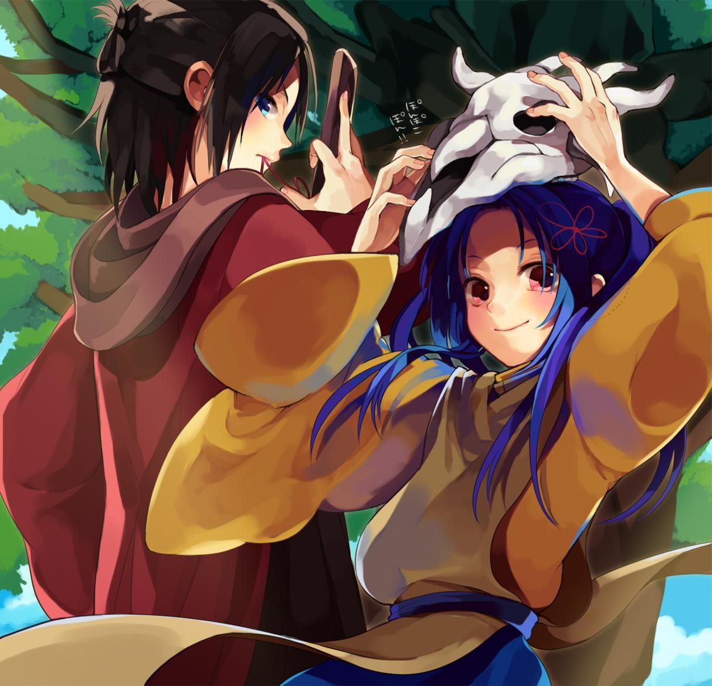 Gozumaru and Mezumaru Anime, Cartoon, Fictional characters