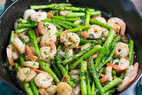 Shrimp and Asparagus Stir Fry - Salu Salo Recipes