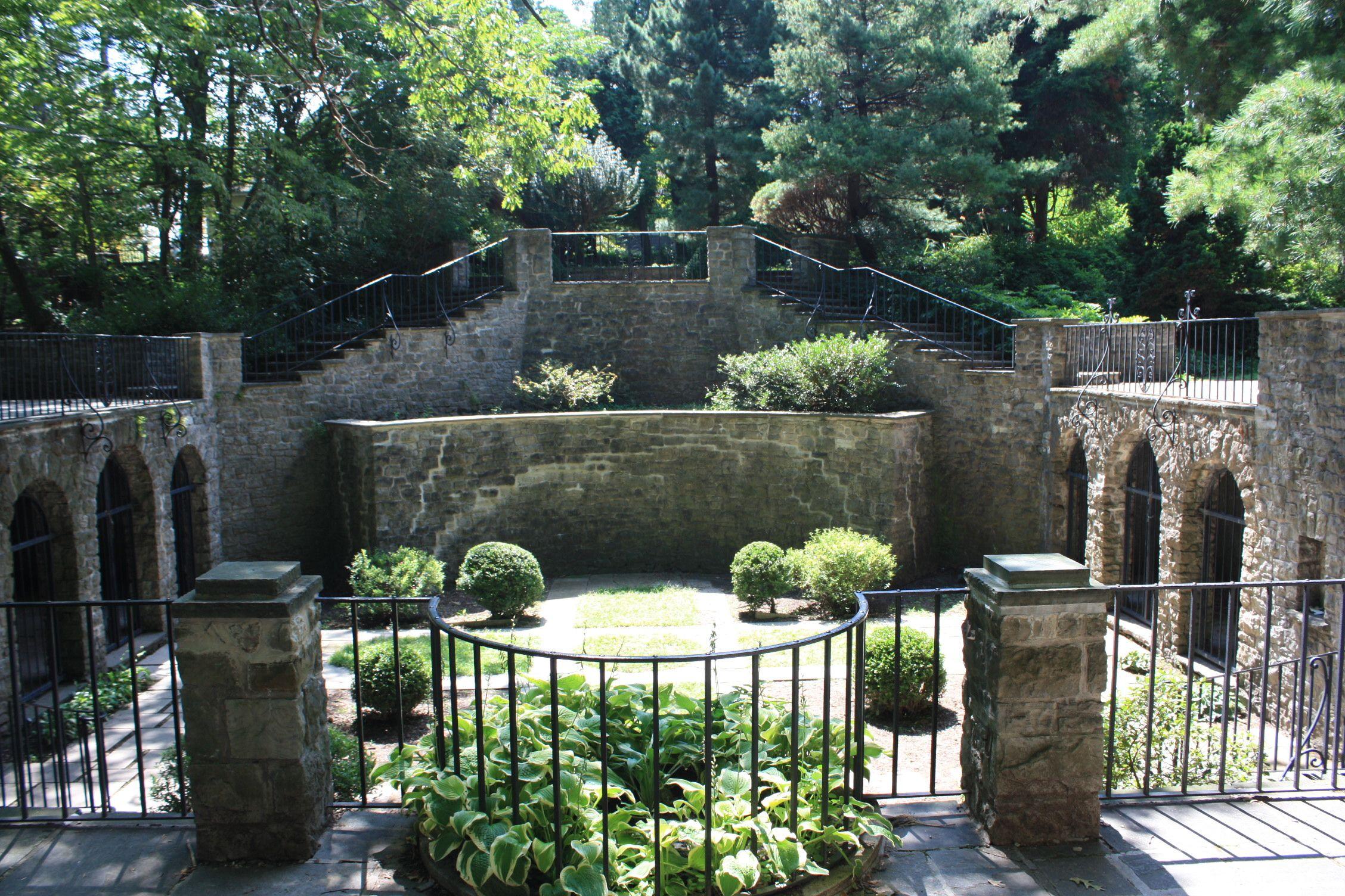 Sunken Gardens Highland Park Rochester NY
