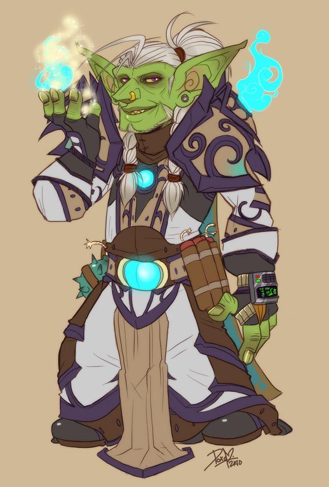Goblin Priest Warcraft World Of Warcraft Warcraft Art World Of