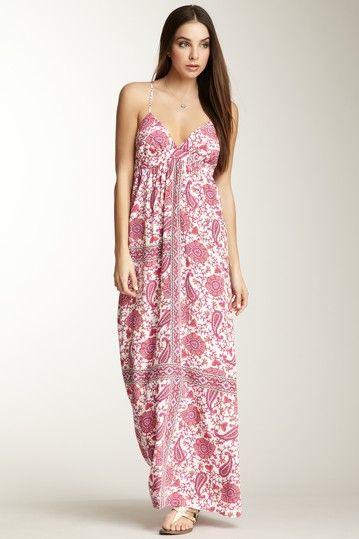Tiffany Silk Maxi Dress