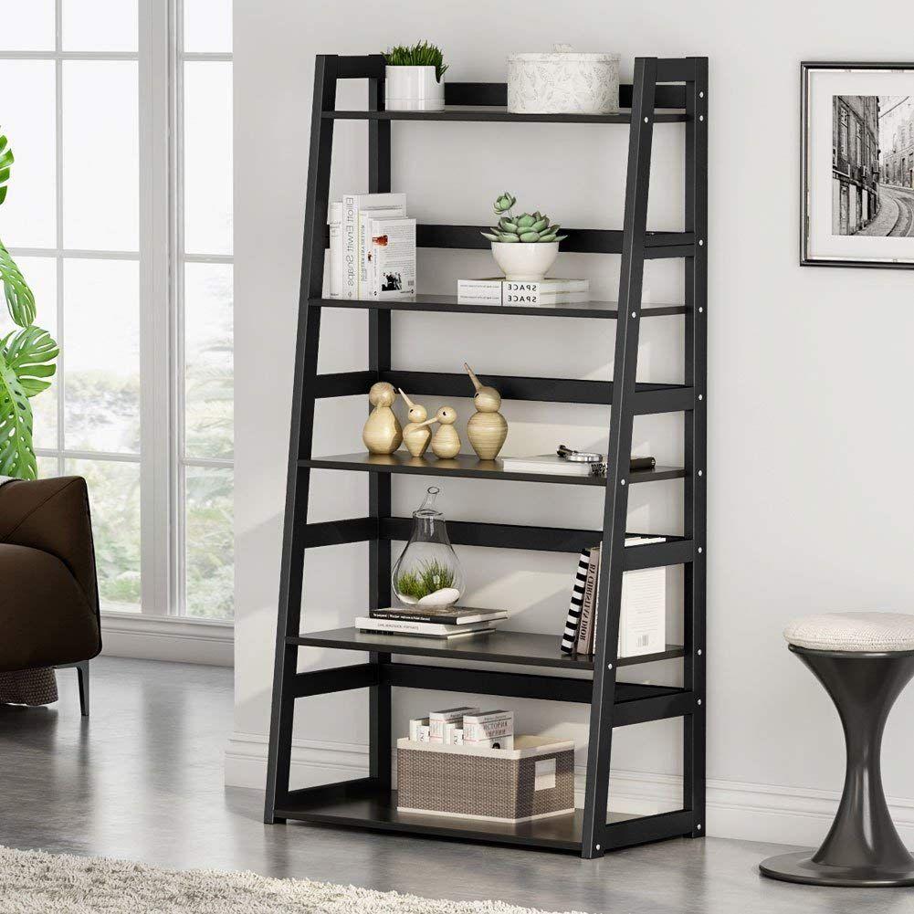 Amazon tribesigns tier bookshelf free standing ladder shelf