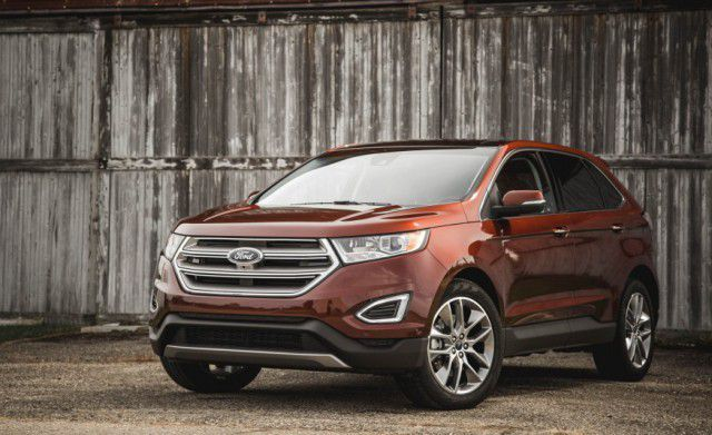2018 Ford Edge Facelift With Images Ford Edge Sport Utility