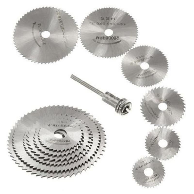dado blade lowes. 6pcs/set mini hss circular saw blade for metal cutter power tool set wood cutting dado lowes