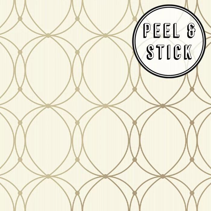 Pescara 18 L X 20 5 W Peel And Stick Wallpaper Roll Peel And Stick Wallpaper Gold Vinyl Peelable Wallpaper