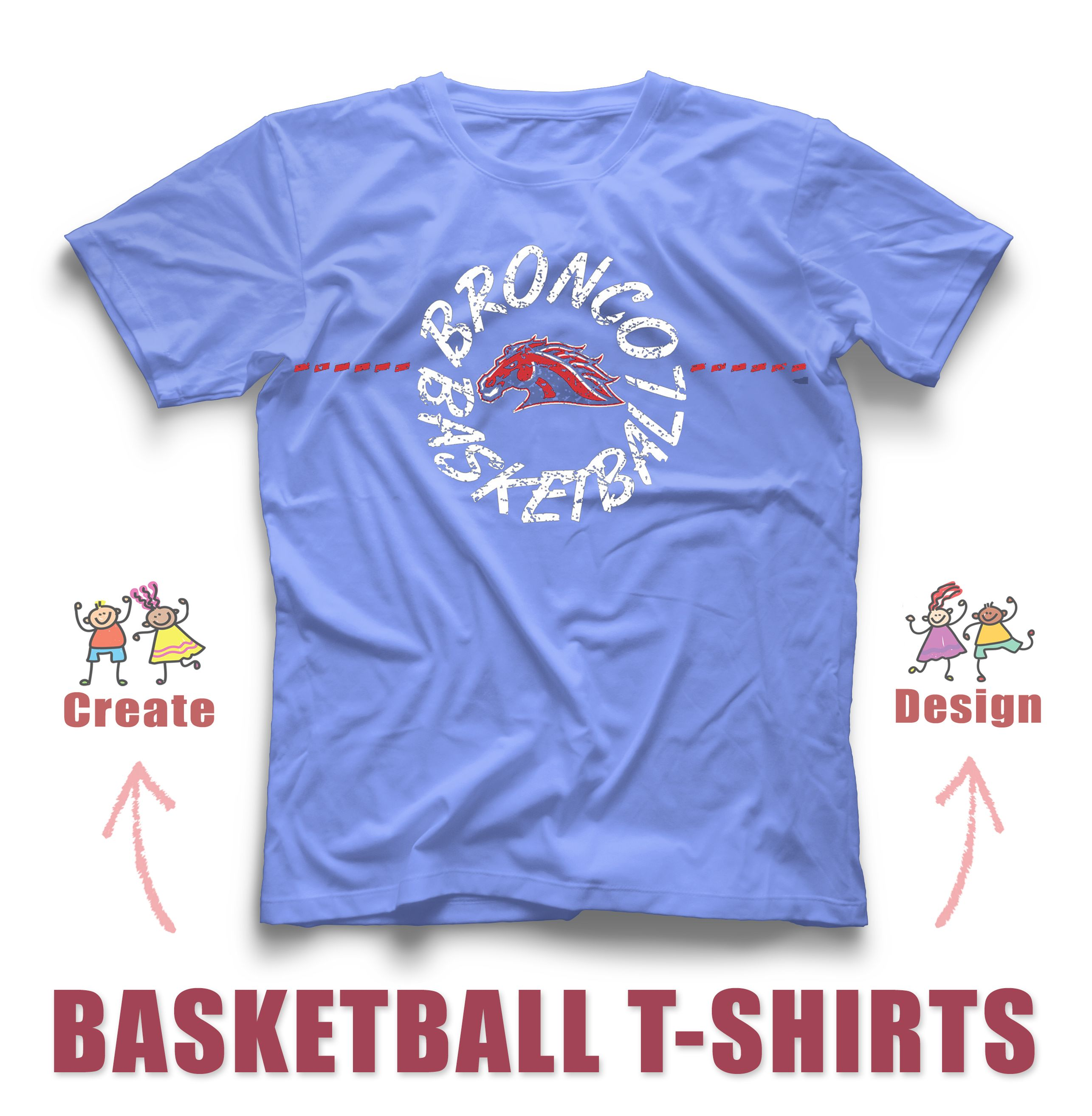 Design tshirt online free shipping - Awesome Basketball Custom T Shirt Design And Create Online Now Easy Fun