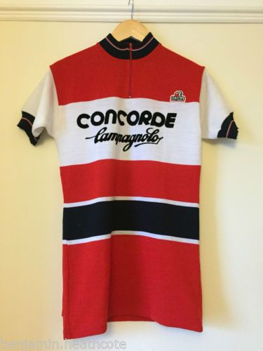 NOS-Concorde-Campagnolo-Team-Vintage-Cycling-Jersey-Perfect-For-LEroica 37b259a81