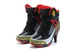 221672b0fea Jordan Shoes Womens Jordan Spizike High Heels Black Yellow Red Boots  Womens  Jordan Spizike Boots - The colors make clear reference to some of the most  ...