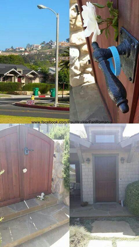 Paul's home in Santa Barbara