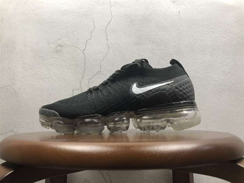 5339ba9481344 Nike Air VaporMax 2 0 Flyknit Black White 852-780001