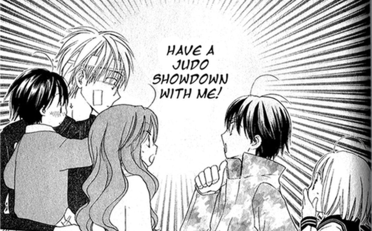 Faster than a Kiss Manga - Kazuma and Kaji showdown!!!!