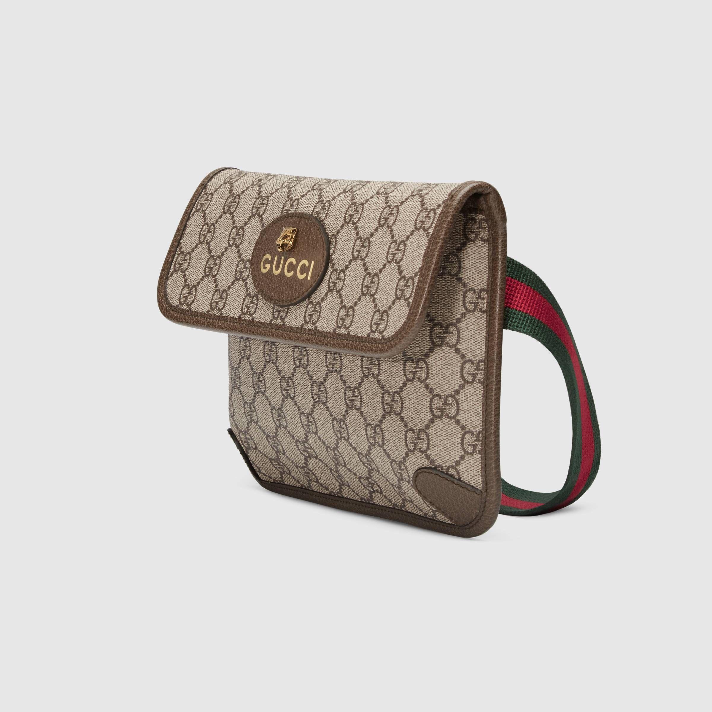 63c72c8300a Gucci GG Supreme belt bag Detail 2