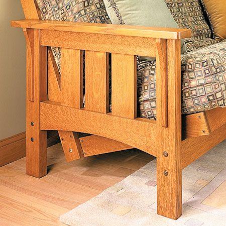 Craftsman Style Futon Sofa Bed Woodsmith Plans