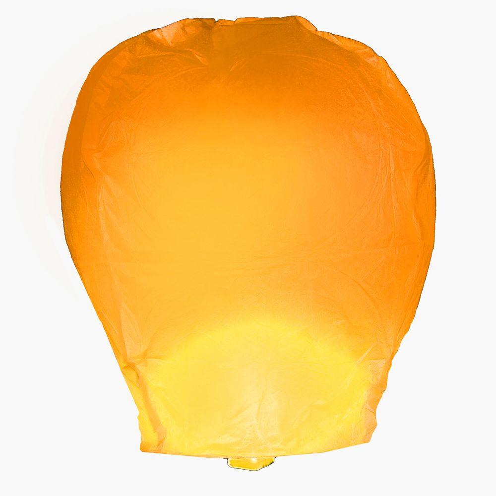 Orange Wish Lanterns For Halloween Sky Lanterns Lantern Set Pink Sky Lanterns