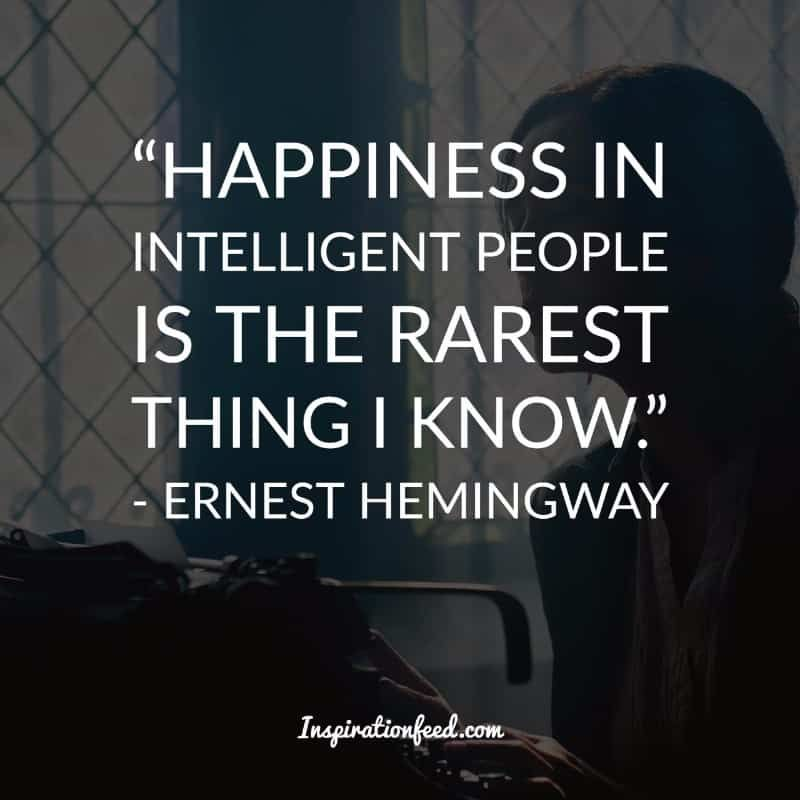 30 Short and Straightforward Ernest Hemingway Quotes on Life ...