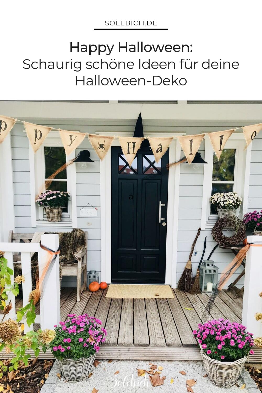 Die Besten Ideen Fur Schaurig Schone Halloween Deko Halloween Deko Deko Halloween
