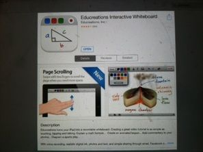 Educreations App Review  By: Melinda Lancaster One of the challenges I feel I face while trying to teach my daughter how to read is correlation and her attention span.  One of the apps that I use that addresses both of these issues is Educreations  Interactive Whiteboard by Educreations, Inc. And it's FREE!!