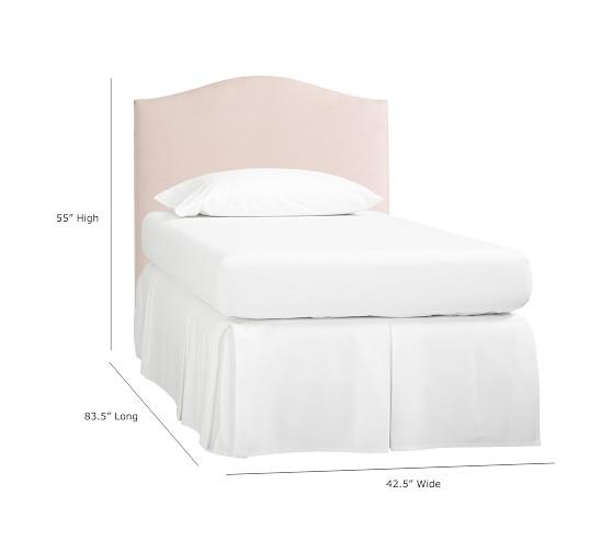 Monique Lhuillier Upholstered Camelback Bed Amp Headboard