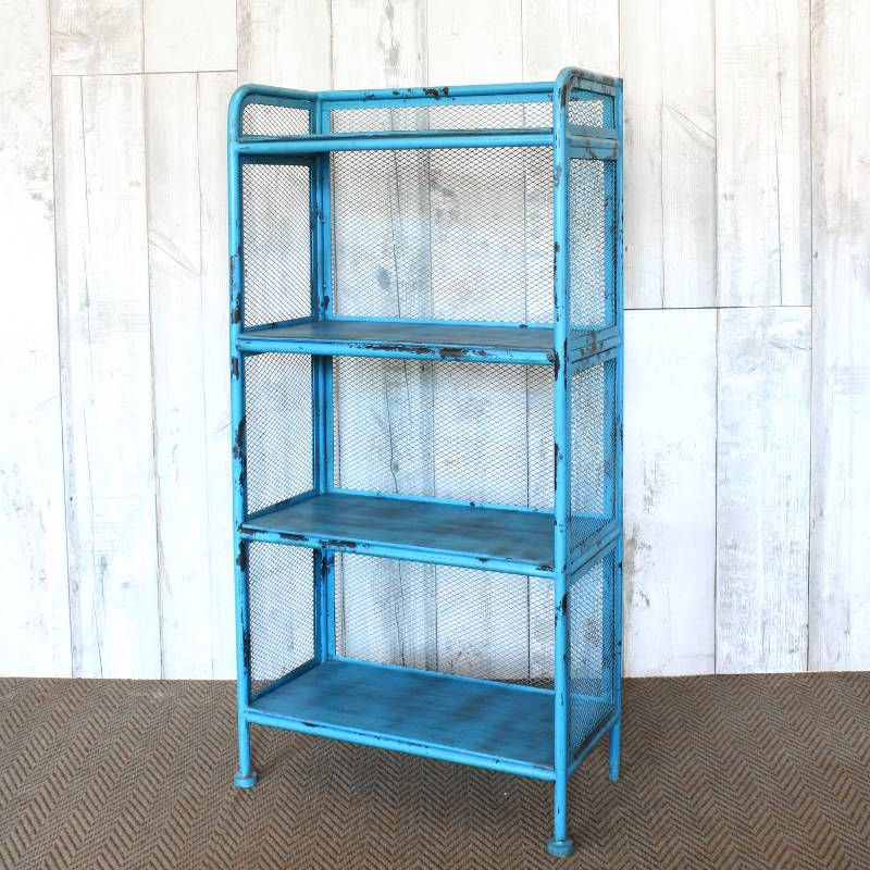 Garston wire shelving unit | Vintage Shelving | Andy Thornton ...