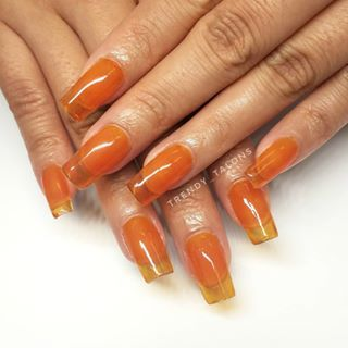 Orange jelly, in spirit of Halloween! . . . GEL-X # ...