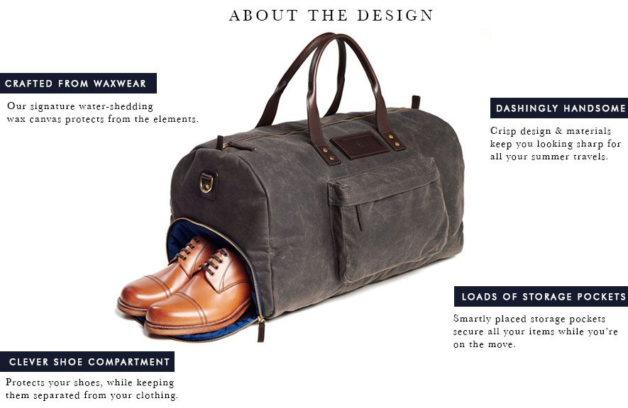Andrews Weekend Duffel Bag 2