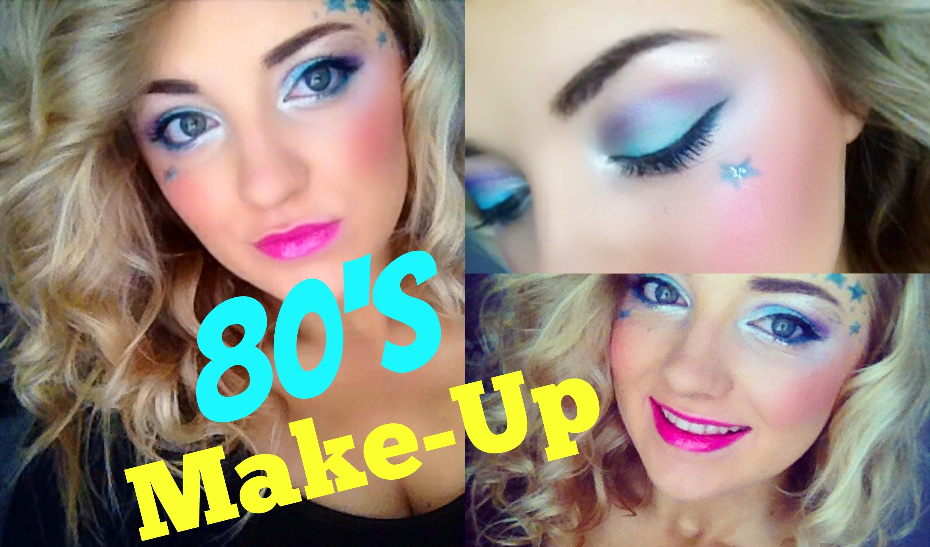 80 S Girl Makeup Tutorial Youtube With Images 80s Eye Makeup 80s Makeup 80s Makeup Tutorial